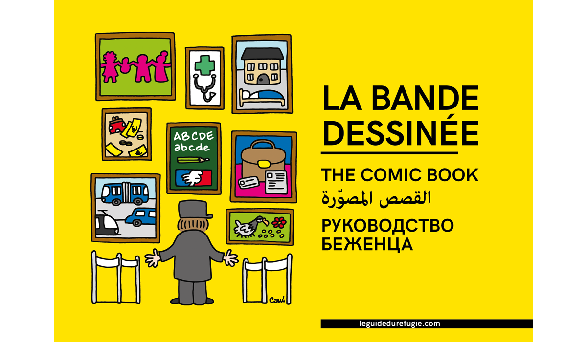 Guide Du Refugie Bande Dessinee000