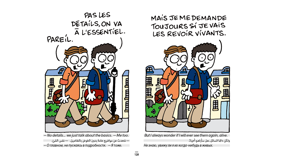 Guide Du Refugie Bande Dessinee128